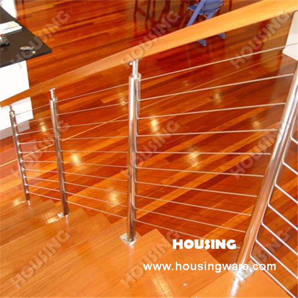 DIY 304s.s indoor stair wire railing in premium quality on ...