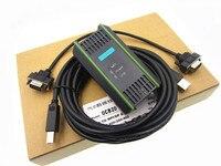 Novo cabo de programação S7-300PLC 6ES7972-0CB20-0XA0/USB-MPI + cabo de download