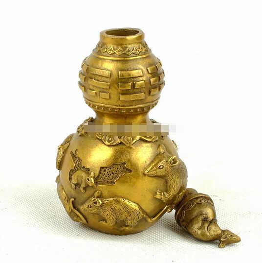 SUIRONG---323 +++เมาส์ทองแดงgossipมะระโชคดีทาวน์เฮ้าส์จากวิญญาณชั่วร้ายปกป้องตกแต่งบ้าน