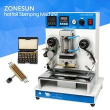 ZONESUN ZY-RM3 Automatische heißfolienprägen Maschine, leder LOGO Rillen maschine, LOGO stempel, Heißer maschine worte