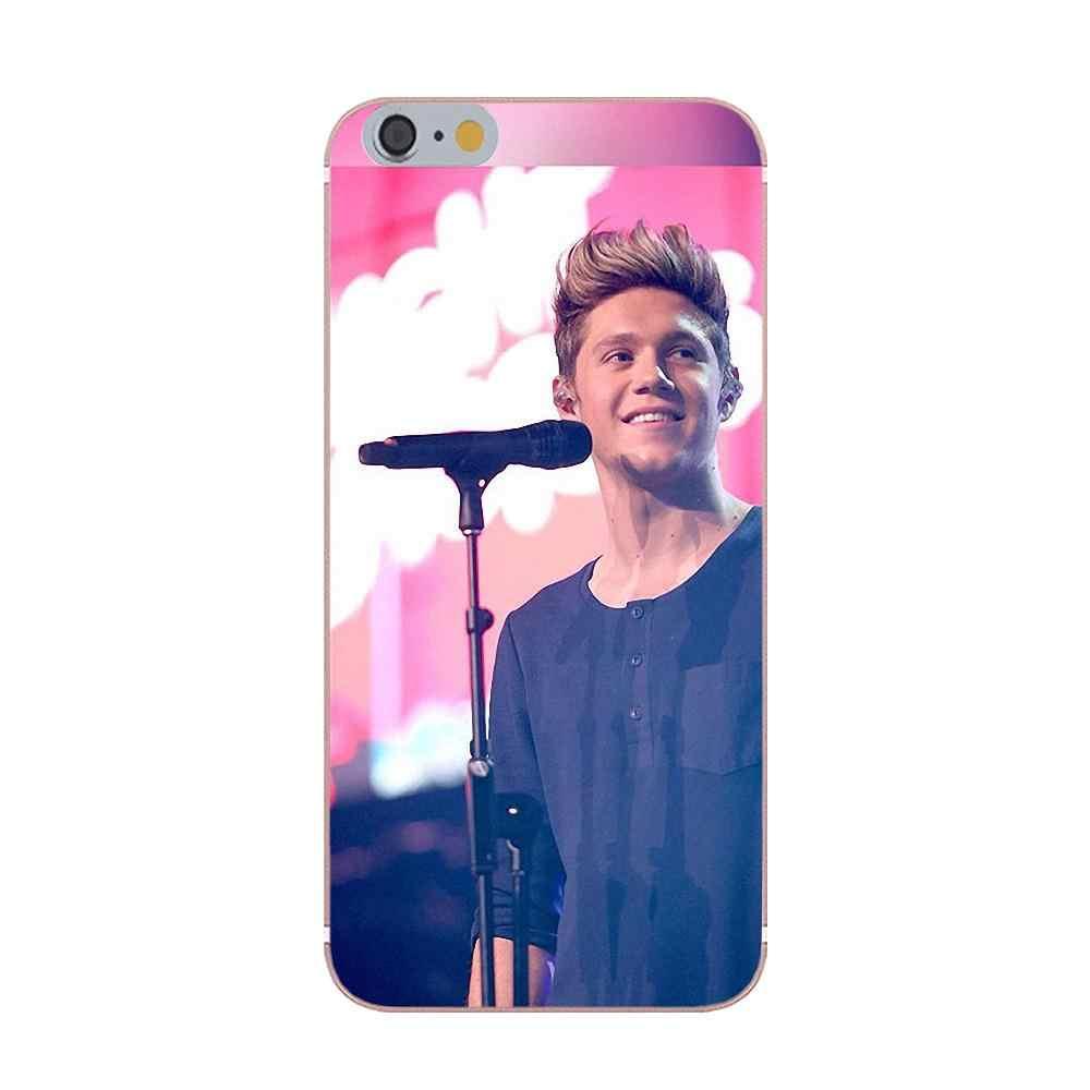 Kmuysl Хоран One Direction для Apple iPhone X 4 4S 5 5C 5S SE 6 6 S 7 8 плюс Diy роспись