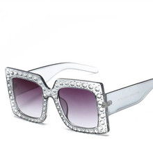 Crystal Square Sunglasses