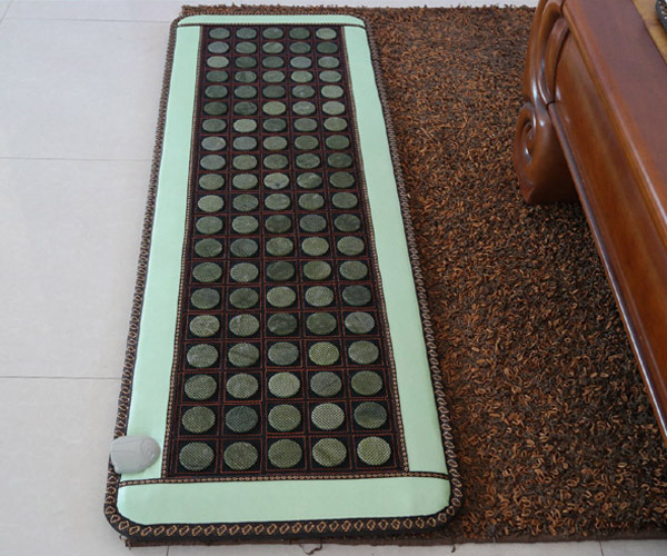 2016 Health Care Jade Infrared Massage Mat Heating Sofa Cushion 50*150CM High Quality Made in China Free Shipping health care heating jade cushion natural tourmaline mat physical therapy mat heated jade mattress high quality made in china