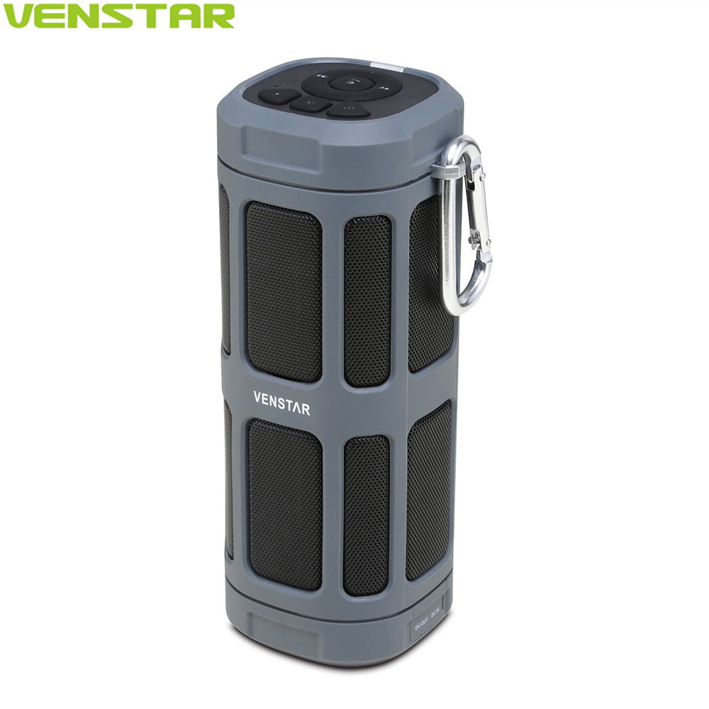 VENSTAR S400 Portable Bluetooth Speaker Column 16W Subwoofer Driver Passive Radiator 6000mAh Battery for Outdoor Bicycle