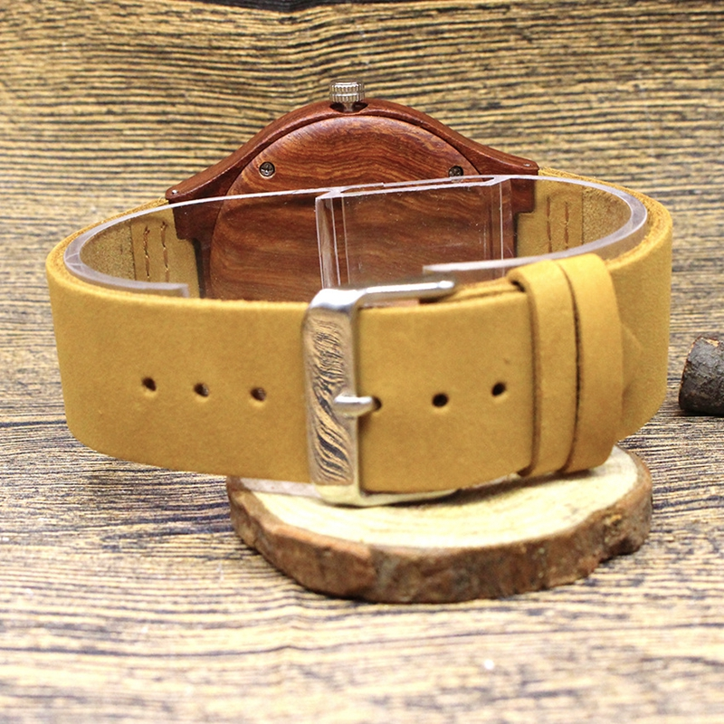 Quartz Wrist Watch  Relogio Feminino  Wooden Watch  Quartz Watches  TJW    Bamboo Wooden Watch  Top Brand Luxury  Date Display  Zebra Wood7
