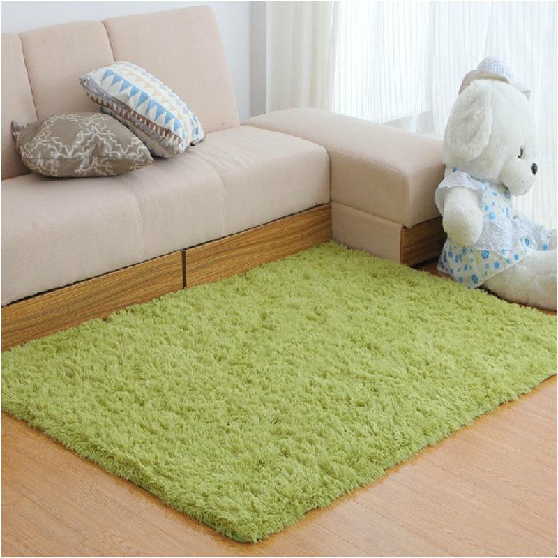 Carpets large size plush shaggy soft carpet area rugs slip for Soft carpet for bedrooms
