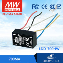 Kemakmuran Mean Well LDD-700HW 2 ~ 52VDC 700mA Meanwell LDD-700 DC-DC LED Driver Kawat Gaya(China)