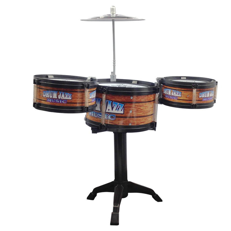 GLOBAL-DRONE-Children-Jazz-Drum-Toy-Cymbal-Sticks-Rock-Set-Musical-Hand-drum-Kids-diy-funny-Drums-Gift-Toy-2