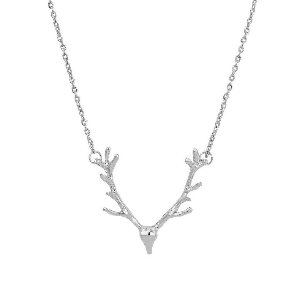 Joyas de moda alces ciervos astas collar colgante de regalo para las - Bisutería - foto 4