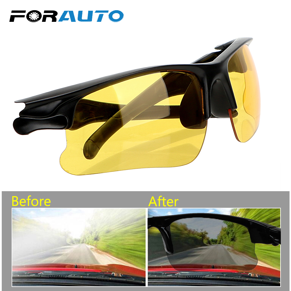 Night Vision Drivers Goggles Driving Glasses Night-Vision Glasses Anti Glare Protective Gears Sunglasses Interior Accessories anti fatigue eyesight vision improve pinholes stenopeic glasses eye care sunglasses