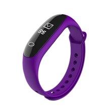 E26 Смарт-часы браслет Мода Bluetooth Спорт Шагомер крови кислородом сердце давления артериального давления браслет наручные часы