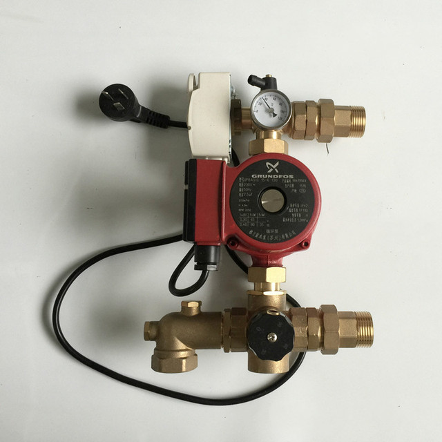thermostat pumpe mischer wasser heizung. Black Bedroom Furniture Sets. Home Design Ideas