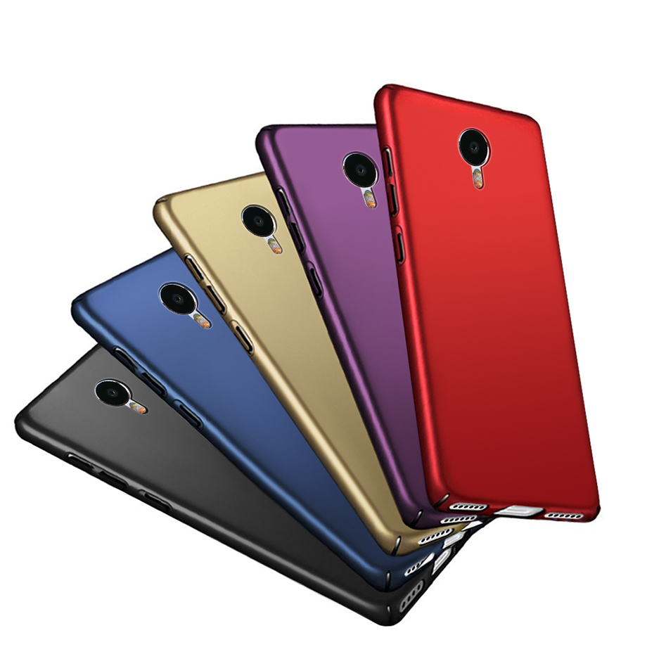 Étui en plastique dur de mode pour Meizu M3S M5S M5C A5 étuis Meizu U10 U20 étui Pro 6 couverture complète PC Meizu M3 Note M6 Note coque de téléphone