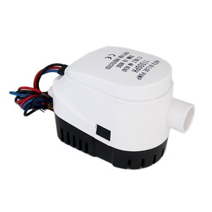 750GPH DC 24V Automatic bilge pump for boat with auto float switch,submersible electric water pump 24 v volt 24volt 750 GPH