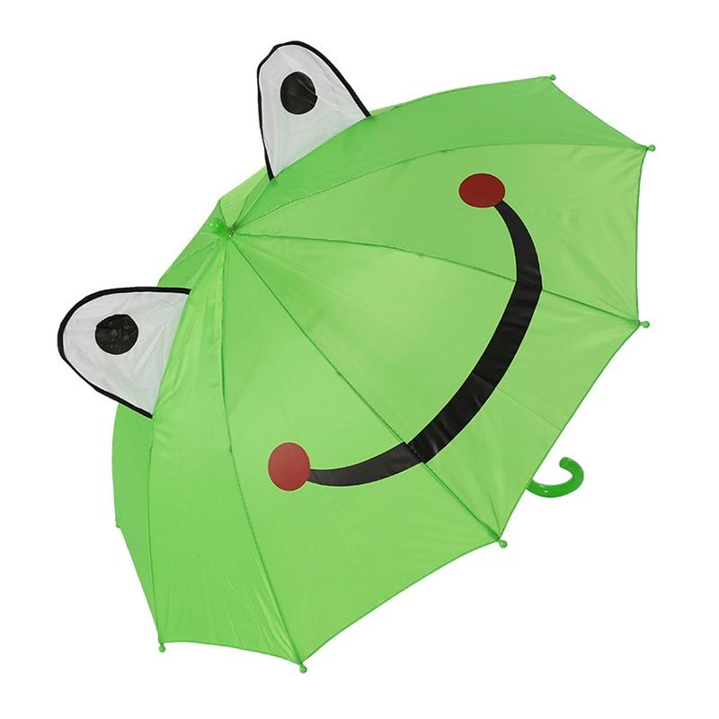 YADA Cute Cartoon Children Umbrella For Boys Girls Animation Creative Long handled 3D Ear Modeling Kid Long Handl Umbrella YS309 in Umbrellas from Home Garden