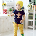 2017 New 1-6 Years Toddler Kids Boys Novelty Funny Cotton Short Sleeve T-Shirt Baby Boy T shirt
