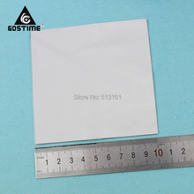 10 Pieces/lot 100mm*100mm*1.5mm CPU Heatsink Chip Thermal Conductive Silicone Pad