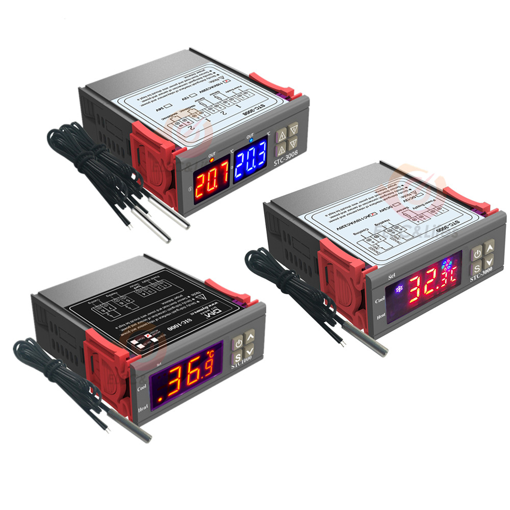 small resolution of stc 1000 stc 3000 3008 3018 220v 10a digital temperature controller thermoregulator cooler heater incubator thermostat 110v 12v drake