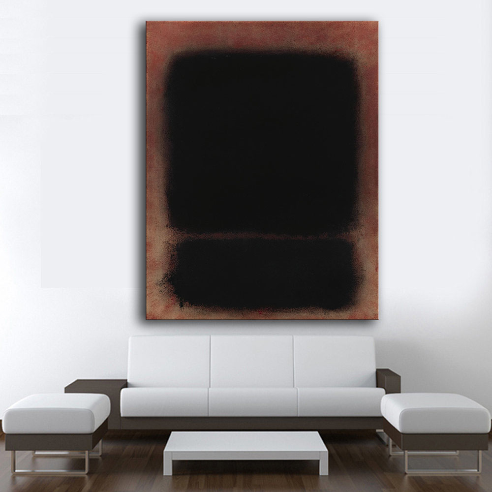 large size print wall art oil painting mark rothko untitled 6 wall art picture