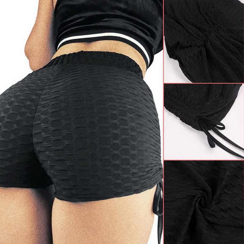 Puimentiua Push Up Zomer Shorts Vrouwen Workout Casual Stijl Mini Shorts Sexy Feminino Candy Kleur Ademend Korte Trekkoord