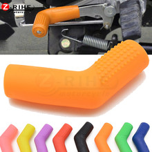 Universal Motorcycle Gear Shift Lever Rubber Gear Boot Shoe Protector For KTM Duke 125 200 250 390 790 EXC EXCF SX SXF XC XCF XC стоимость