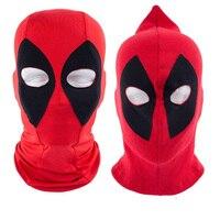 Розничная продажа Marvel Дэдпул Hat супергерой Балаклава Хэллоуин Косплэй Кепки X-Men Шапки головные уборы стрелка партия Средства ухода за кожей...