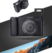 DHL Free Ship 2016 24Mp Max 8MP CMOS Sensor 3″ Rotatable Screen Compact Digital Camera Photo Camera 1080P Video 800mah Battery