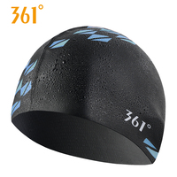 0c55a52a5 361 Silicone Printed Swimming Caps Adult Swim Cap Ear Protect Long Hair  Waterproof For Men Pool. 361 Silicone Impresso Toucas de Natação Adulto ...