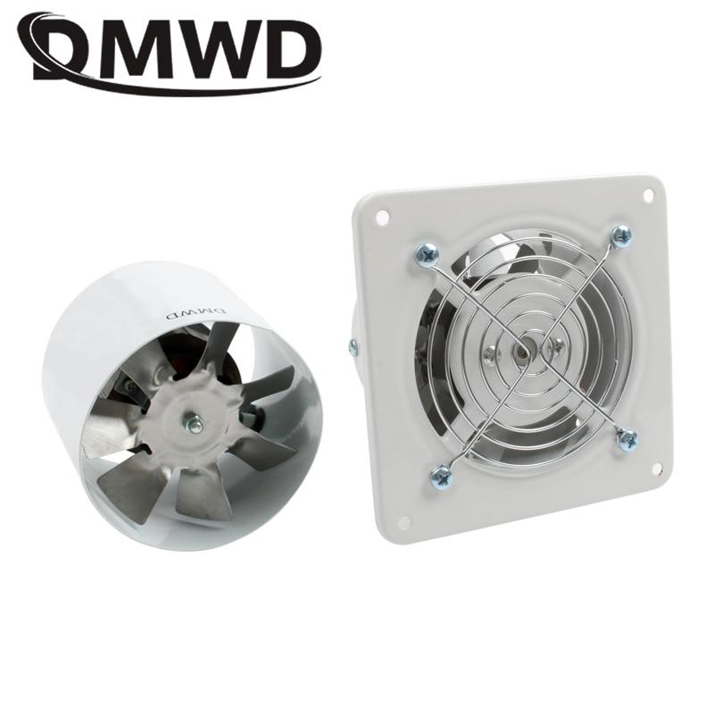 DMWD 4 Inch Kitchen Toilet Exhaust Fan Ventilator 4