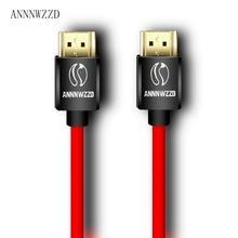 Кабель HDMI 2,0 4 K 3D 1 м 2 м 3 м 5 м 10 м кабель hdmi 1080 P 3D для PS3 xbox BLURAY HDR ТВ кабель