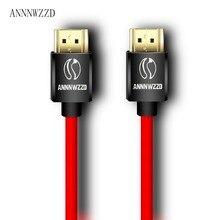 Cáp HDMI 2.0 4K 3D 1M 2M 3M 5M 10M Cáp Hdmi 1080P 3D Cho PS3 XBOX BLURAY HDR Cáp
