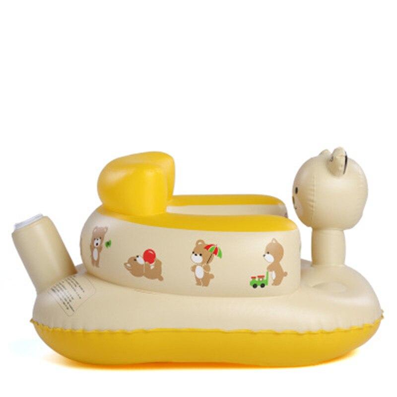 Toddler Bathtub Chair Animals Pattern Inflatable Sofa Children\'s ...