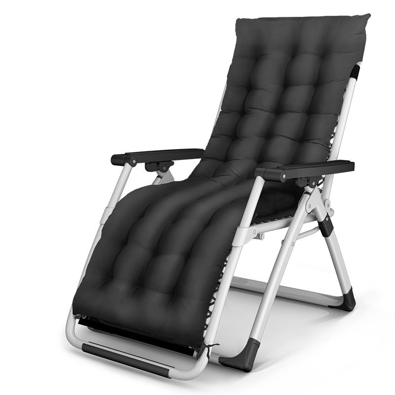 Modern and Simple Siesta Chair Household Pregnant Women Fold Recliners With Mat Beach Portable Light Chair Adjustable Backwards цена