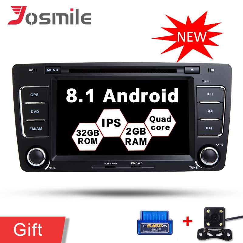 <font><b>Android</b></font> 8.1 Auto DVD Radio GPS Navigation Für Skoda <font><b>Octavia</b></font> 2009-2013 Yeti 2008-2014 Audio <font><b>Multimedia</b></font>-Player Canbus volle RCA Wifi image