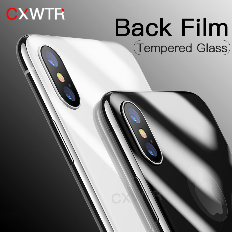 3D Full Cover Screen Protector For iPhone X 7 8 Plus 10 Tempered Glass On the