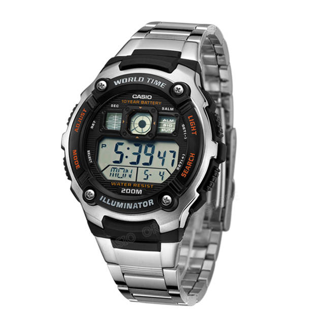 f638248eebf placeholder Relógio Casio Men Hot Sale AE-2000WD-1A Digital Fashion    Casual relógios de