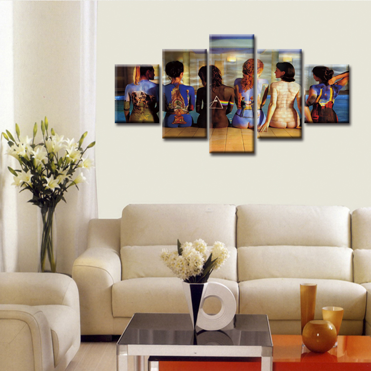 5 Pieces Large Canvas Painting Pictures Movie poster series Wall Pictures for Living Room Print Paintings Home Decor in Painting Calligraphy from Home Garden