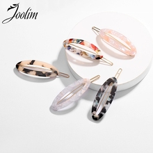 JOOLIM Oval Resin Hair Pin On Trendy American Jewelry