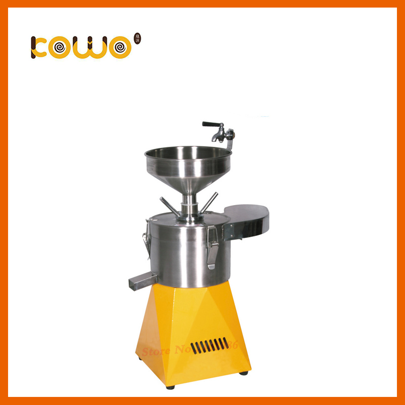 цена на high efficiency kitchen processing machine industrial 60kg/h electric stainless steel Soya bean grinder soy milk maker for sale