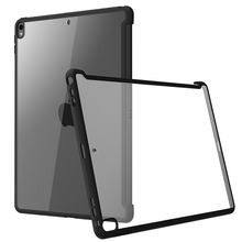 For iPad Pro 10.5 Case (2017) / Air 3 10.5 Case (2019) Clear Hybrid Cover,Compatible with Official Smart Cover/Smart Keyboard(China)