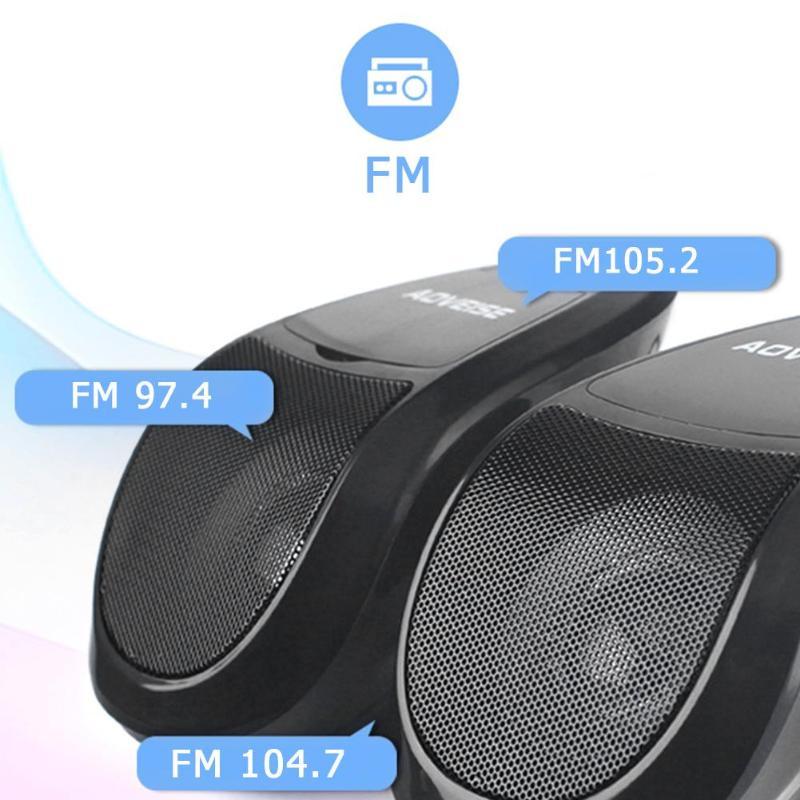 de áudio rádio fm u disco tf