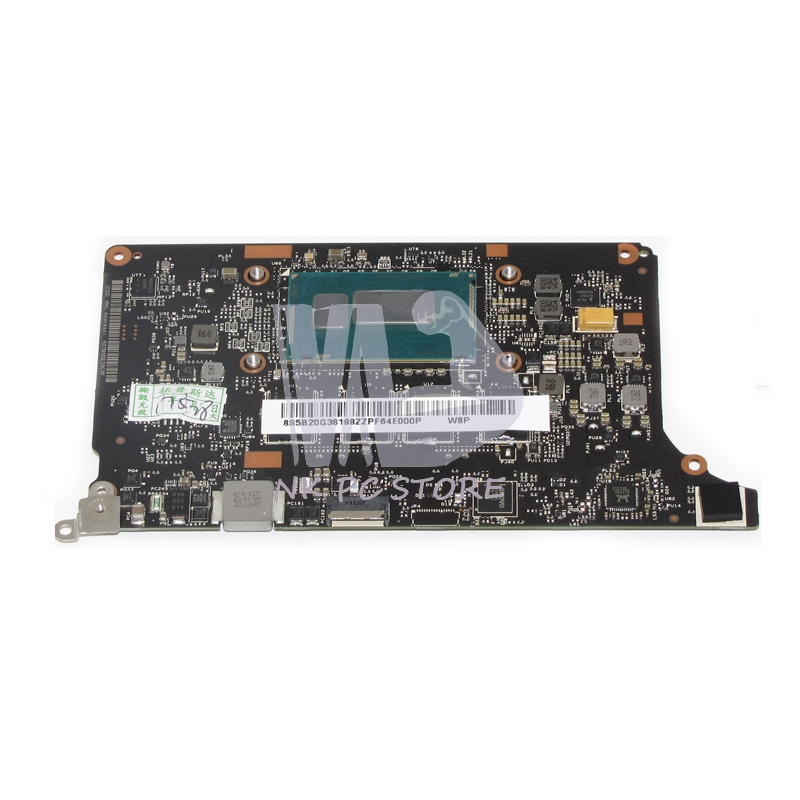 NOKOTION NEW Laptop Motherboard For Lenovo Yoga 2 Pro Main board System Board I7-4510U CPU 8GB RAM Onboard