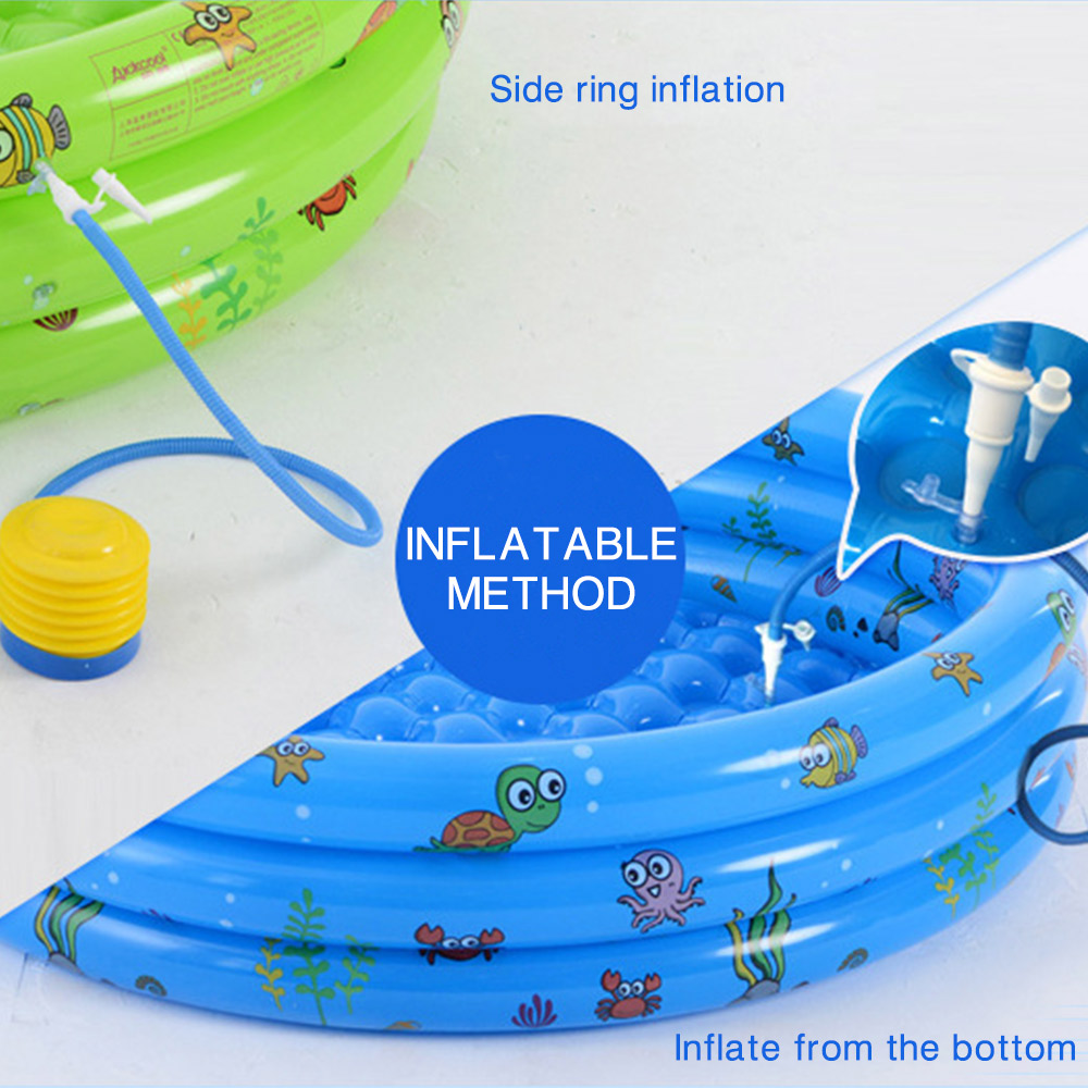 Inflatable Baby Swimming Pool Crocks Portable Piscine Outdoor Kids Inflatable Pools Ocean Balls Dry Pool for Children 39 s Pools in Swimming Pool from Mother amp Kids