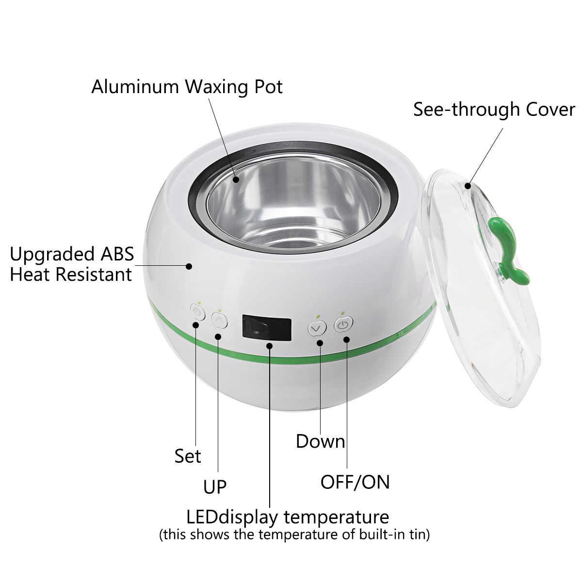 ABD/AB Fiş Epilasyon Kiti Akıllı Ağda Isıtıcı Fasulye Sticks Cilt Bakım Tüy Dökücü Ağda Isıtıcı Wax Pot Isıtıcı şeritler 110 V-240 V