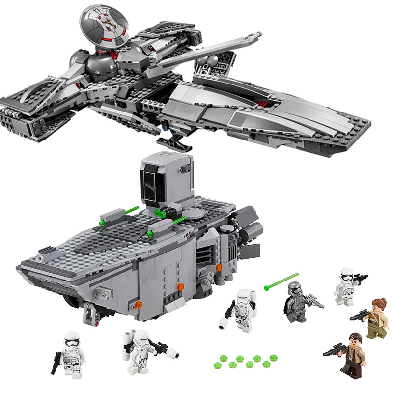 2018 New 05008 Star Wars Force Awaken Infiltrator Building Blocks Bricks Toys Compatible with LegoINGly Starwars Children Model 678pcs diy star wars resistance troop transporter model building blocks compatible with starwars legoingly bricks toys kids gift
