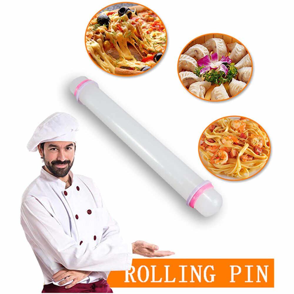 Mattarello antiaderente in silicone mattarello in silicone torta pasticceria cottura cottura mattarello in acciaio inossidabile deegroller pattuon