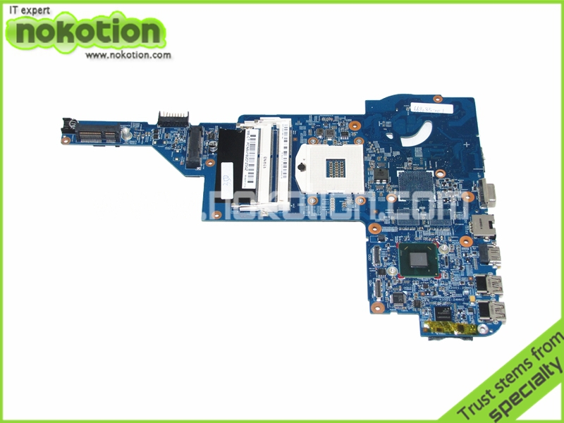 NOKOTION 48.4QC05.011 669085-001 Laptop motherboard for HP PAVILION DM4 DM4-3000 HM67 GMA HD3000 DDR3 mainboard nokotion 636373 001 da0r13mb6e0 mainboard for hp pavilion g4 g6 g7 laptop motherboard hm65 intel hd gma ddr3 works