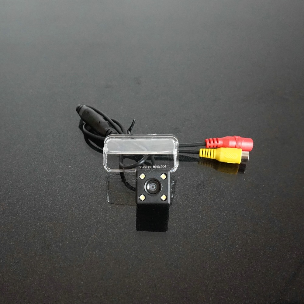 CarHD CCD rear view Camera back up reverse camera For PEUGEOT 206 207 407 307 4LED for GPS car dvd player Waterproof Shockproof