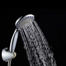 725fb880e2c4 SHAI 3 función ABS rociador cromado ducha de ahorro de agua ECO toma de Gel  de sílice cabeza de ducha accesorios de baño