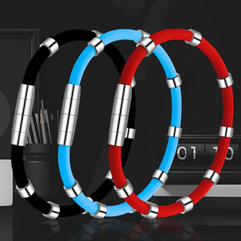 Adjustable Anti Static Wrist Strap Electronic Work Anti-static Wrist Band Strap Antistatic Band Care Wristband Silicone Bracelet